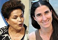 Dilma Roussef e Yoani Sanchez