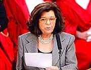 Il ministro Paola Severino