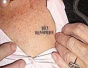 L'insolito tatuaggio