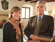 Il conte Pier Alvise Serego Alighieri e la figlia Massimilla