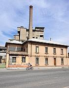 La fabbrica Eternit di Casale (Afp/Cacace)