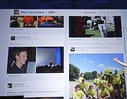 Una schermata del popolare social network