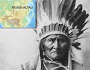 Il grande capo Geronimo e la zona dei monti Altaj