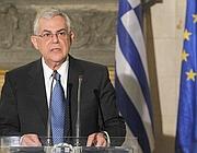 Il primo ministro greco Lucas Papademos (LaPresse)