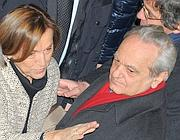 Il ministro Elsa Fornero con il marito Mario Deaglio durante l'inaugurazione dell'anno Accademico a Torino (Ansa)