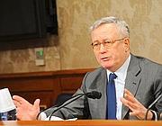 Giulio Tremonti al Senato