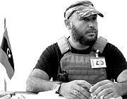 Mahdi Al Harati, capo del contingente libico in Siria