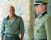 Luca Zingaretti in una scena della fiction «Cefalonia» (Ansa)