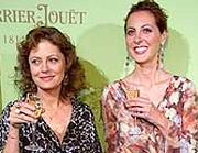 Susan Sarandon con la figlia Eva (Ap)