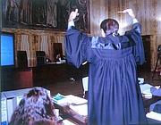 Un udienza del processo Enimont