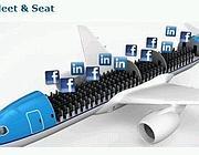 Con il «Meet & Seat» di Klm è possibile studiare in anticipo i profili dei viaggiatori di un volo