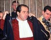 Il pm Antonio Di Pietro, il grande 'Inquisitore'