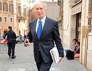 Il deputato del Pdl Maurizio Paniz, che ha presentato la querela (Ansa)