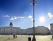 Una veduta di piazza Unità d'Italia
