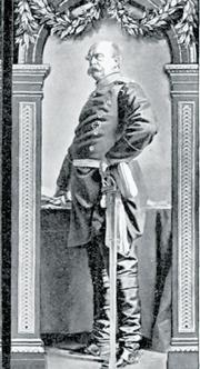 Otto von Bismarck (1815-1898), primo ministro della Prussia e poi della Germania imperiale