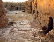 La piazza etrusca dei Lucumoni scoperta a Cerveteri (ai margini della piazza Sacra) nei cui pressi sono state rinvenute anche due tombe ancora intatte