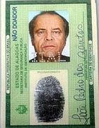 La finta carta di identità