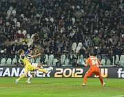Del Piero fermato a pochi metri dalla porta del Chievo (LaPresse)