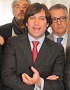 Fabrizio Ferrandelli, vincitore delle primarie (Fotogramma)