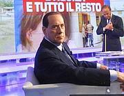 Berlusconi in una puntata di «Porta a Porta»