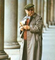 Elio Pagliarani fotografato da Giovanni Giovannetti (da «Le parole esposte», Crocetti)
