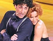 Simone Di Pasquale e Lucrezia Lante delle Rovere a �Ballando�
