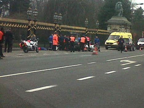 L'incidente davanti al Castello reale di Laeken