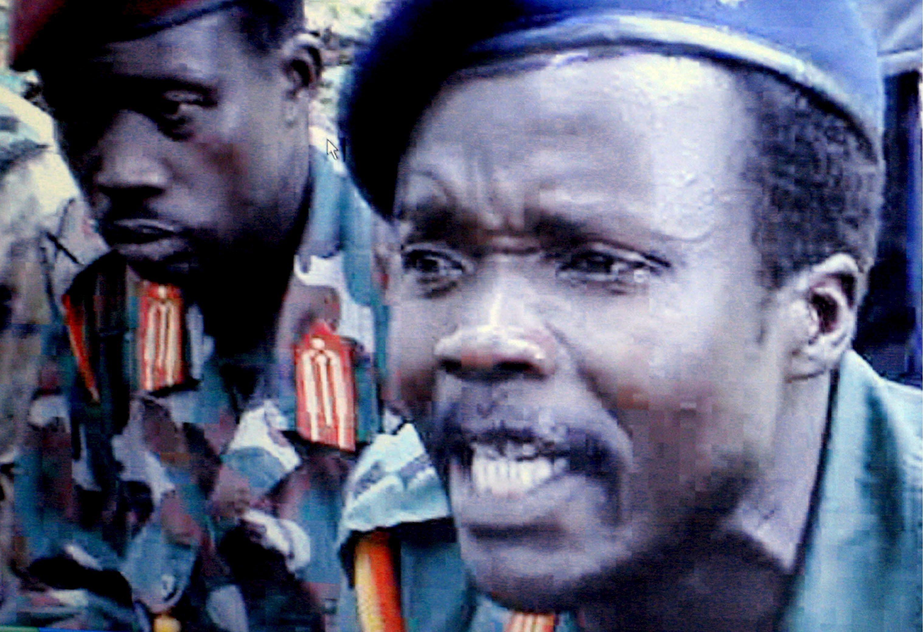 Il generale Joseph Kony (Epa)