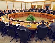 Il plenum del Consiglio Superiore della Magistratura (Imagoeconomica)