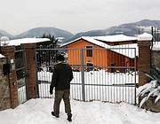 Una delle ville prese di mira dalla banda di romeni