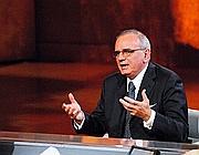Attilio Befera durante la trasmissione 'Che tempo che fa'