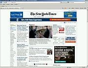 L'edizione elettronica del  «New York Times»