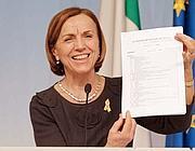 Il ministro del Welfare, Elsa Fornero (Ansa)