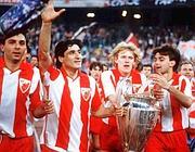 La Stella Rossa, simbolo della Jugoslavia multietnica, campione d'Europa nel 1991