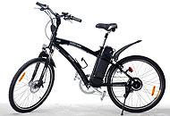 Un modello di bici elettrica