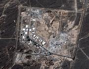 La centrale nucleare di Natanz, in Iran (Ap/Ikonos satellite)