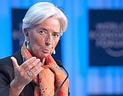 Il direttore generale del Fondo Monetario Internazionale Christine Lagarde (Ansa)