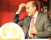 Il segretario del Partito Democratico Pierluigi Bersani (Ansa)