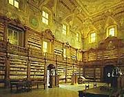 La biblioteca dei Girolamini è la più antica biblioteca di Napoli nella quale sono contenuti alcuni dei libri più importanti della letteratura mondiale (Foto Corbis).