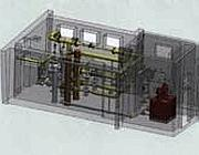 A destra la centralina Emma in una stazione di metano «di primo salto» (da Regas)
