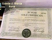 Sequestrati titoli di credito americani per un valore nominale pari a 1,5 miliardi di dollari