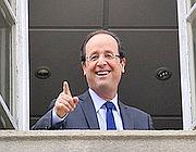 Un sorridente Fran�ois Hollande (Afp)