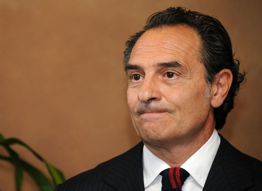 Cesare Prandelli, ct della Nazionale italiana (Fotogramma)