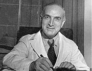 Il ginecologo Ernst Grafenberg, che ha dato il nome al «punto G»