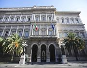 La sede della Banca d'Italia, Palazzo Koch (Ansa)