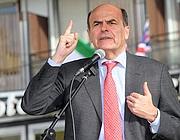Pierluigi Bersani a Como (Ansa)