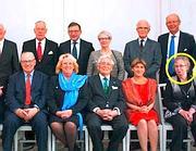 Nel cerchio la pensionata Margareta Winberg