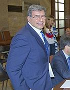 Fine mandato. Il presidente uscente di Agcom, Corrado Calabrò (Ansa)