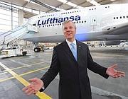 L'ad di Lufthansa Christof Franz (Ansa)