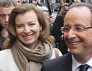 Francois Hollande e la compagna Valerie Trierweiler